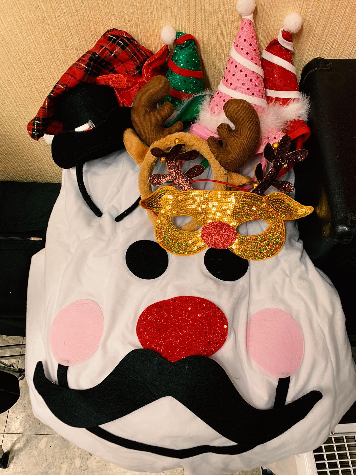 宝塚校のクリスマスグッズ