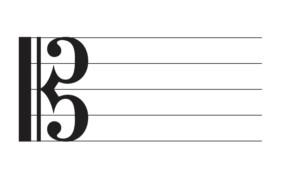 アルト譜表