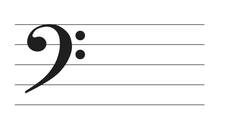 低音部譜表