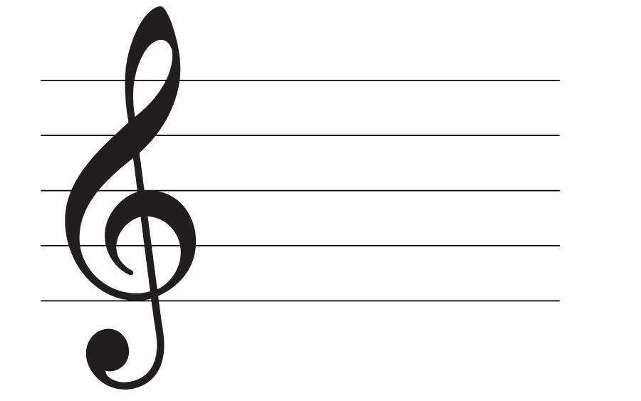 高音部譜表