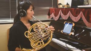 管楽器のオンラインレッスン も多数開講